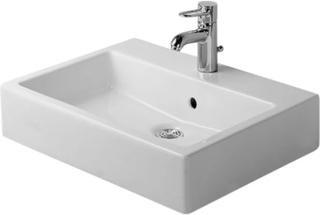Duravit Vero håndvask m/overløb & slebet underkant 60 cm