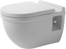 Duravit Starck 3 vägghängd toalett, boltavstånd 23 cm, vit