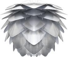Silvia Lampa medium Stålfärgad plast