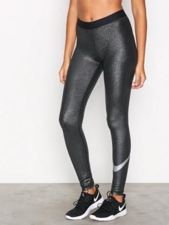 Nike Pro Cool Tight Sparkle Svart/Sølv