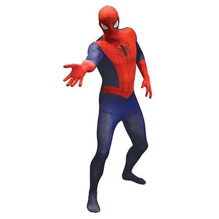 Marvel Comics Spider-Man voksen Unisex grundlæggende Cosplay kostum... - Fruugo