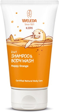 Kids 2in1 Shampoo & Body Wash Happy Orange, 150 ml
