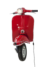 KARE DESIGN Scooter Red Big væglampe - rød aluminium
