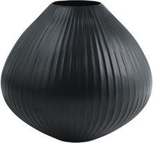FUHRHOME Oslo vase - sort aluminium (Ø 30)