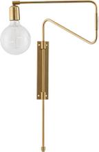 House Doctor Swing væglampe i messing - 35 cm
