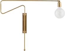 House Doctor Swing væglampe i messing - 70 cm