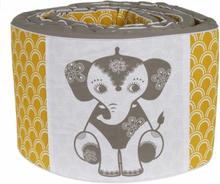 Roommate - bäddset - Soulmate Elephant Grey / Ochre Baby Jumper
