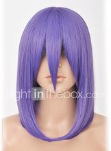 akatsuki Konan violetti cosplay peruukki