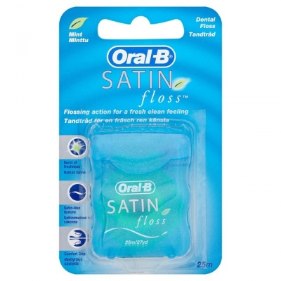 Oral-B Satin Floss Mint 25 m