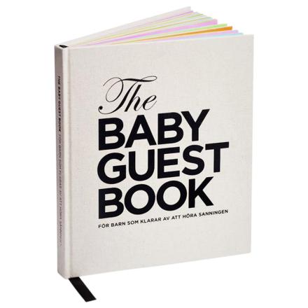 The Baby Guest Book Norwegian
