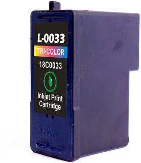 Lexmark 33C Farvet, kompatibel blækpatron (18 ml)