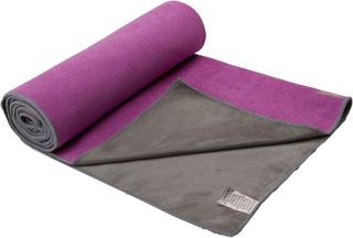 Gaiam Dual-Grip Yoga Håndklæde Lilla