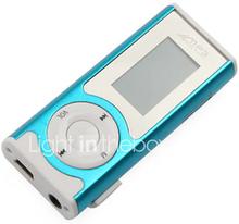 plug-in Micro SD TF kortinlukija MP3-soittimen LCD näyttö - sininen