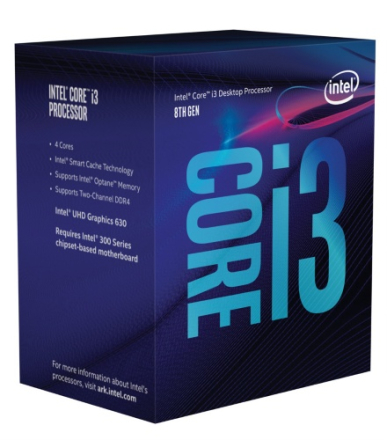 Intel Core i3 8100 3,6GHz Socket 1151-2 Box