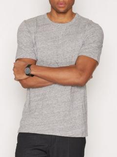 Minimum Delta T-shirt T-shirts & undertrøjer Light Grey Melange