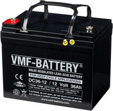 VMF AGM Djupurladdningsbatteri 12 V 36 Ah DC36-12