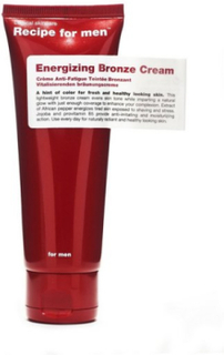 Recipe For Men Energizing Bronze Cream 75 ml Ansiktsvård Vit