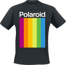 Polaroid - Logo -T-skjorte - svart