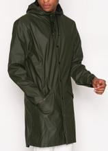 Rains Long Jacket Takit Green