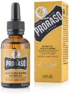 Proraso Beard Oil - Skäggolja Wood & Spice 30 ml