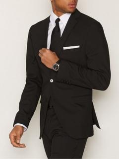 Selected Homme Slhslim-Mylologan Black Blazer B No Blazere & dresser Svart