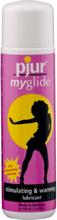Pjur MyGlide: Värmande Vattenbaserat Glidmedel, 100 ml