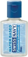 Swiss Navy Premium: Vattenbaserat Glidmedel, 20 ml