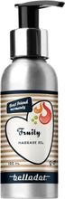Belladot Fruity: Massage- och badolja, 100 ml