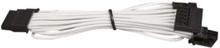 Premium Individually Sleeved SATA Cable Type 4 (Generation 3) - White