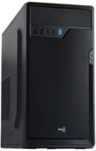 Corporate CS-100 Advance - Chassi - Minitower - Svart