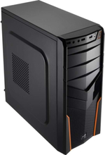 V2X Advance - Orange - Chassi - Miditower - Svart