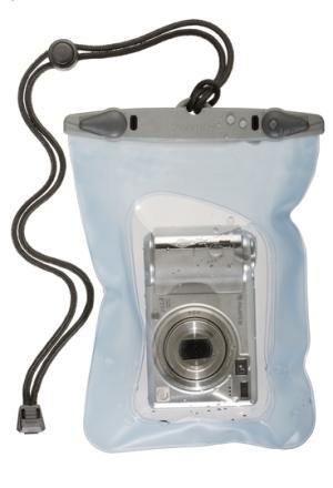 Aquapac kompakti vedenpitävä digikameralaukku