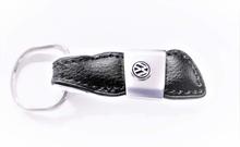 Äkta Läder VW nyckelring