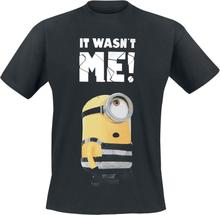 Minions - It Wasn´t Me -T-skjorte - svart