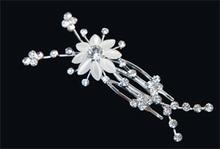 Hårsmycke Blomma och kristaller