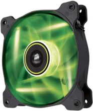SP120 LED - Green Lådfläkt - 120 mm - 26 dBA