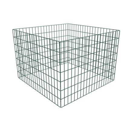 vidaXL Square Mesh Have Composter 100 x 100 x 70 cm