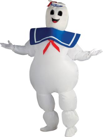 Oppusteligt kostume Ghostbusters voksen One-size - Vegaoo.dk