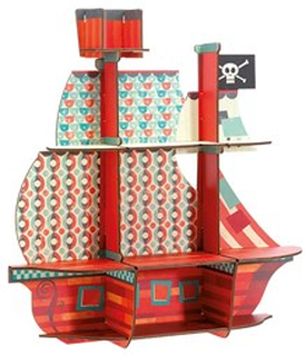 Djeco Pirates Treasure Hylla