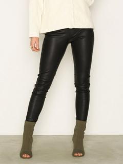 Selected Femme Slfsylvia Mw Stretch Leather Leggin