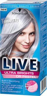Kjøp Schwarzkopf Live Color Ultra Brights Or Pastel 098 Steel Silver, 098 Steel Silver Schwarzkopf Hårfarge Fri frakt