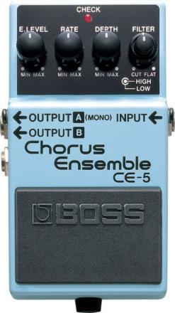 Boss - CE-5 Chorus Ensemble - Guitar Effect Pedal