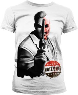 Batman Arkham - Vote Dent Girly T-Shirt