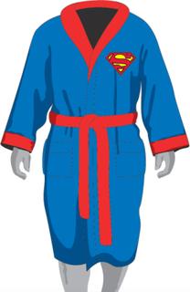 Morgonrock Superman - Lyser i mörkret