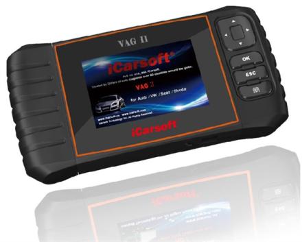 iCarsoft VAWS II Audi / VW / Seat / Skoda Multi-system Scanner VAWS II