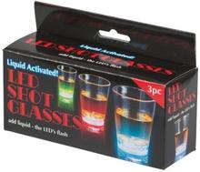 Blinkade shotglas 3-pack