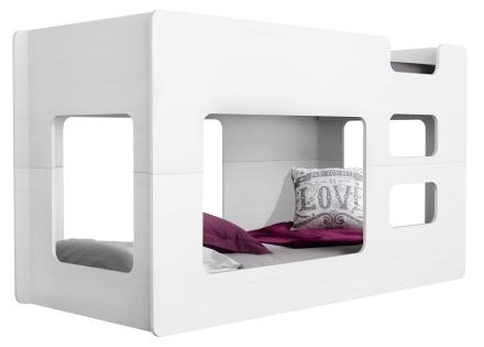 Cube køyeseng – Hvit