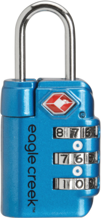 Eagle Creek Travel Safe TSA Lock brilliant blue 2019 Reselås