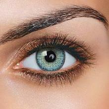 FreshTone Fargede kontaktlinser uten styrke - Topaz Blue