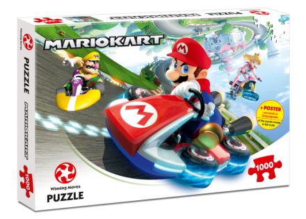 Super Mario - Mario Kart Puzzle, 1000 pcs